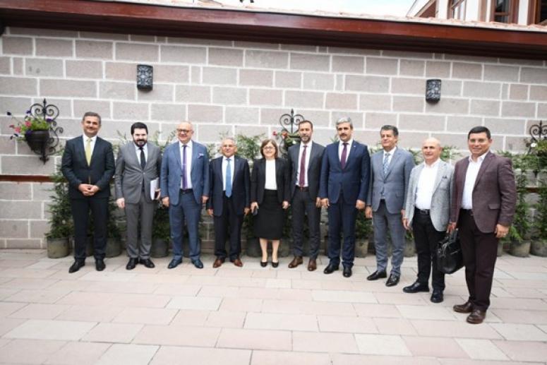 Yılmaz, TBB'nin Ankara'daki toplantısına katıldı