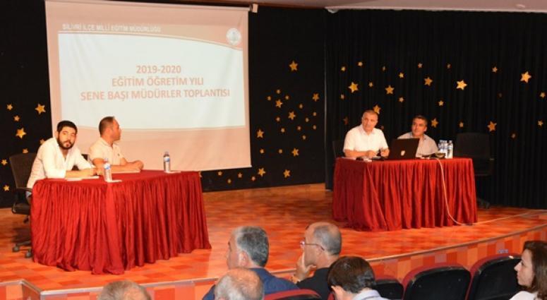 2019-2020 Eğitim Öğretim Yılı Sene Başı Müdürler Kurulu Toplantısı yapıldı