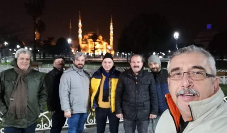 Silivrili İşadamları, Sultan Ahmet Camiinde Sabah Namazı Kıldı