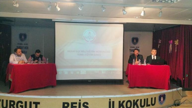 Kademe ve Türlerine Göre Eğitim Kurumu Müdürler Toplantısı yapıldı