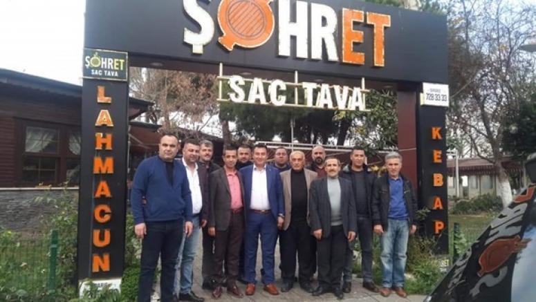 MHP'li Başkan Pazar Kahvaltısını Şöhret'te Yaptı