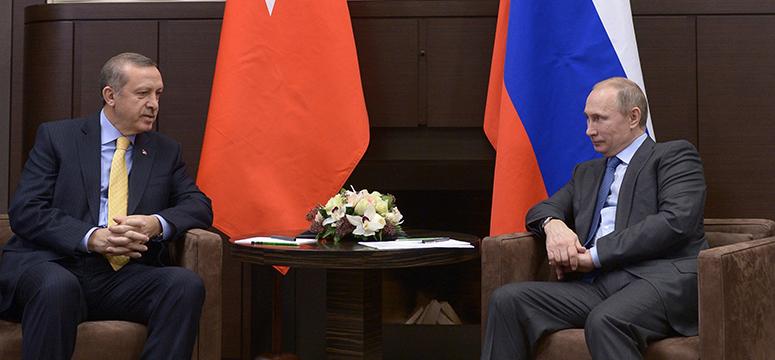 Başbakan Erdoğan Putin ile görüştü.