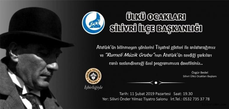 Ülkü Ocakları'ndan özel 'Atatürk' programı