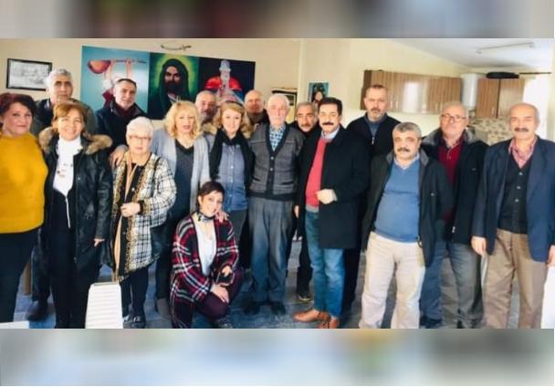 Selimpaşa'lılardan Hacı Bektaş Veli Vakfı'na ziyaret