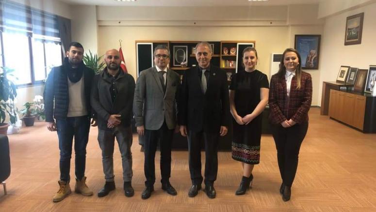 Göçmenler, Rumeli Üniversitesi'ni ziyaret etti