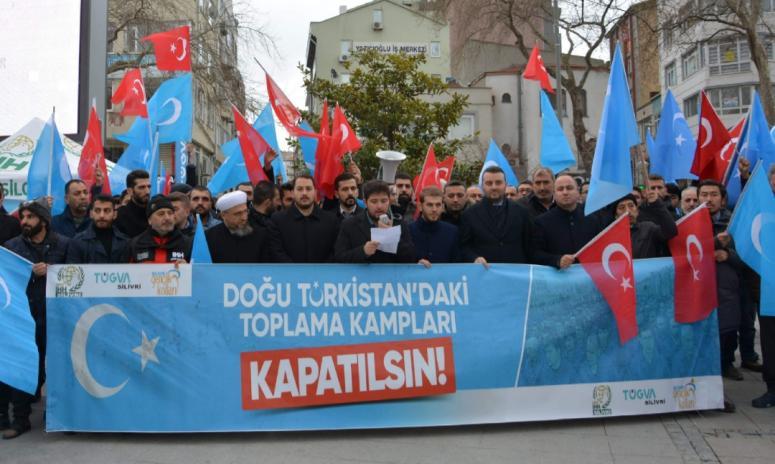 Doğu Türkistan'a Silivri'den Destek!