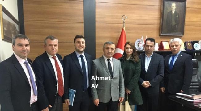Ahmet Ay, CHP Silivri'nin Yeni Yönetimini Konuk Etti