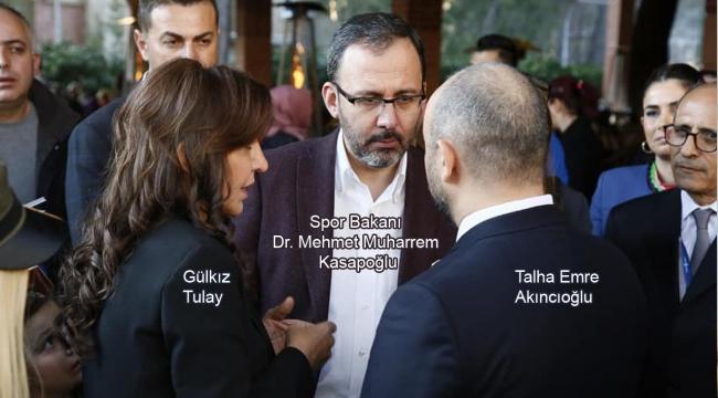 Akıncıoğlu'ndan, Bakan Kasapoğlu'na Yakın Temas!