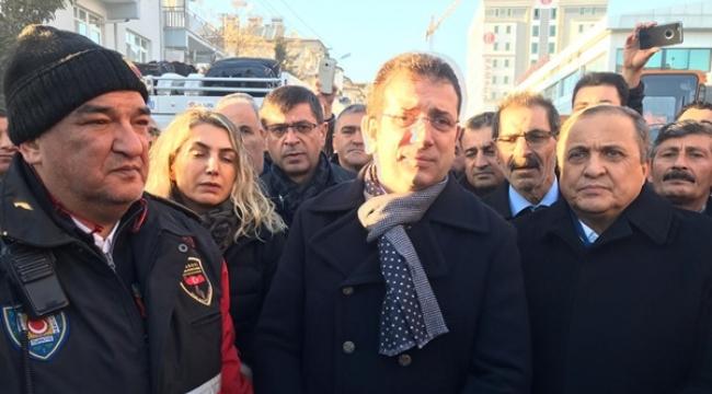 """Başkan İmamoğlu, Elazığ'da: """"Deprem Bölgesinde Bulunan Şehirlerimizin Başka Hiçbir Önceliği Yok"""""""