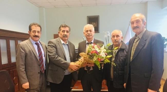 Cemevi Yönetiminden Vahit Doğan'a Hayırlı Olsun Ziyareti
