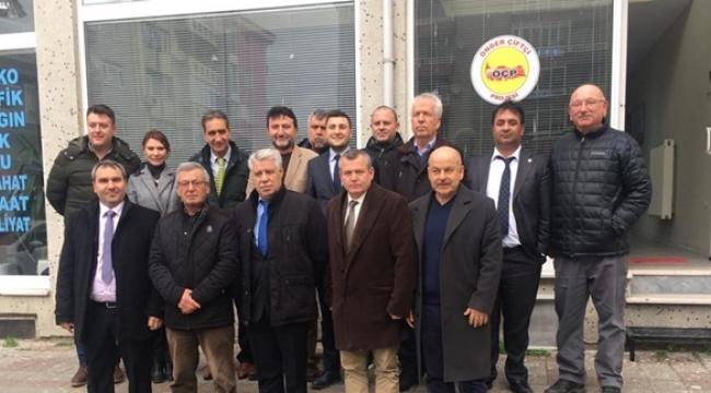 CHP'den Önder Çiftçi Derneği'ne Ziyaret