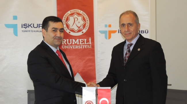 İstanbul Rumeli Üniversitesi ve İŞKUR protokol imzaladı