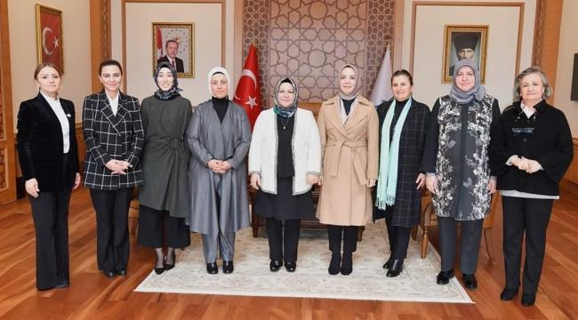 Kaynarca, İstanbul'un Tek Kadın Belediye Başkanını Ziyaret Etti
