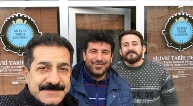 Kırkıcı'dan Silivri Tarih Derneği'ne Ziyaret