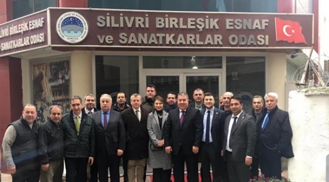 Koçer, CHP Silivri'nin Yeni Yönetimini Ağırladı