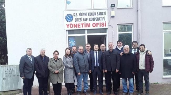 Küçük Sanayi Sitesi Yapı Kooperatifine Ziyaret
