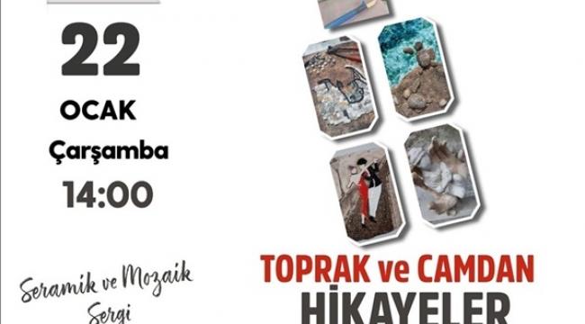 Seramik ve Mozaik Sergisi Yarın Açılıyor