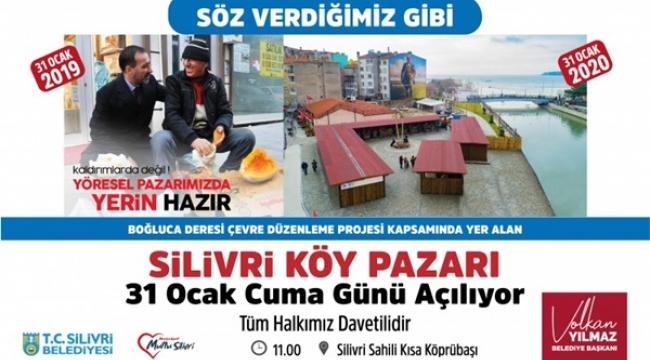 Silivri Köy Pazarı Cuma Günü Açılıyor