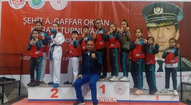 Silivrili Karateciler, Şehit Ali Gaffar Okkan Turnuvasına Damga Vurdu!