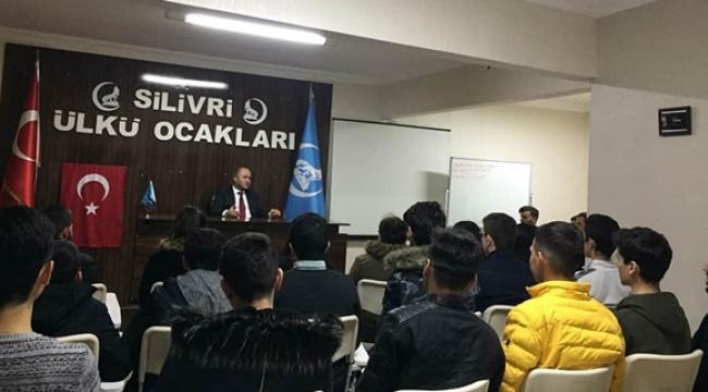 Zafer Yalçın'dan Ülkücü Gençlere 'Kara Ocak' Semineri