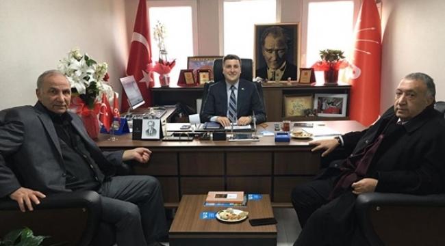 Ağrılılardan Başkan Esen'e Ziyaret