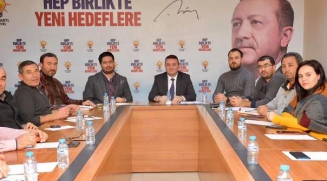 AK Parti Silivri'de Haftalık Olağan Toplantı Yapıldı