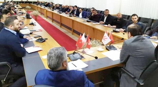 Aktaş, İlçe Başkanları Toplantısına Katıldı