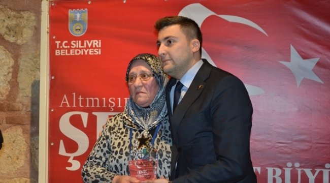 Başkan Esen'den Şehit Annesine Plaket