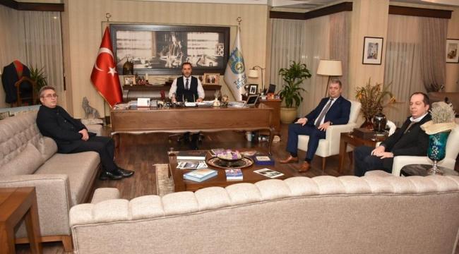Başkan Yılmaz'a Partidaşlarından Ziyaret