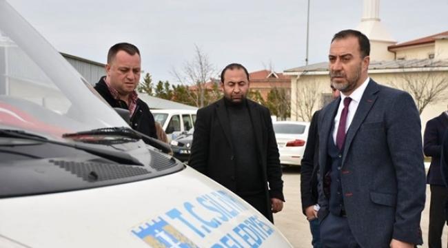 Başkan Yılmaz, Araçlar Amirliğini Denetledi