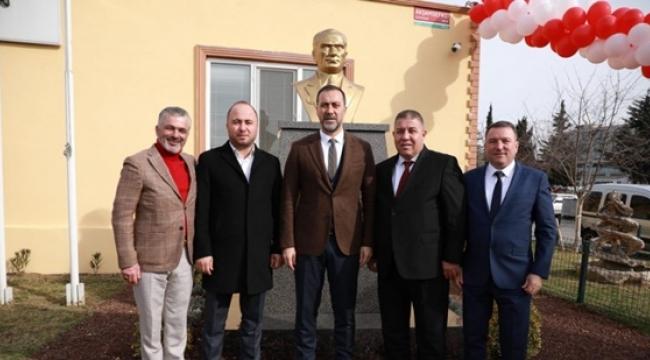 Başkan Yılmaz, Atatürk Büstü Açılışına Katıldı