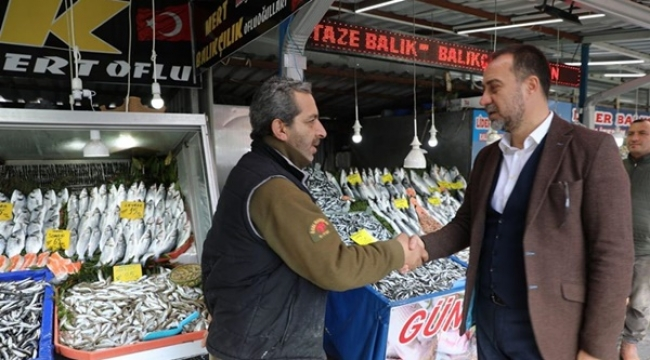 Başkan Yılmaz, Balıkçılara Hayırlı İşler Diledi