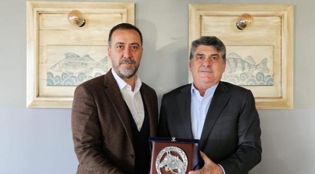 Başkan Yılmaz, TJK Başkanı Serdar Adalı'yı Ağırladı