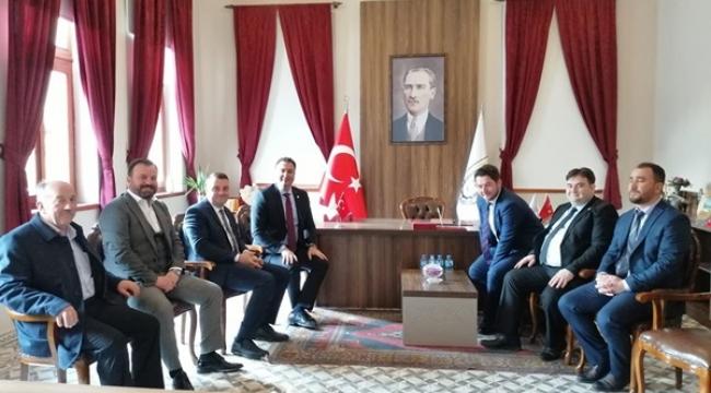 AK Parti Silivri, Pınarhisar Olağan Kongresine Katıldı