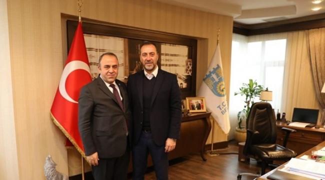 Çevik'ten Yılmaz'a Ziyaret
