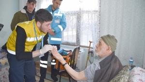 Değirmenköylü Yaşlılar Sağlık Kontrolünden Geçti