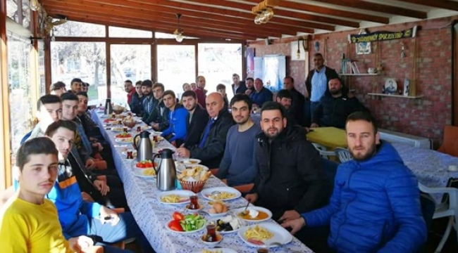 Değirmenköyspor Kulübü Kahvaltıda Buluştu