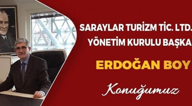 Erdoğan Boy, İş Dünyası'na Konuk Oluyor