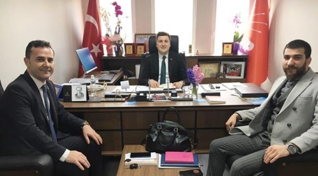 Eser Hotel Müdürlerinden Başkan Esen'e Ziyaret