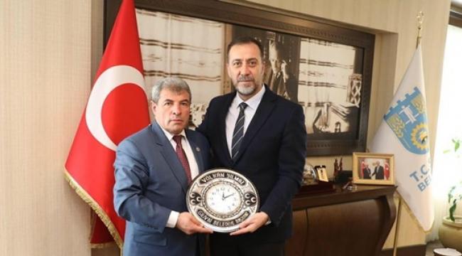 Gökçedere Belediye Başkanı Bakır'dan Başkan Yılmaz'a Ziyaret