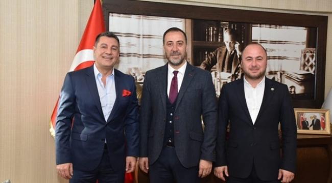 Gökhan Türkeş Öngel'den Başkan Yılmaz'a Ziyaret