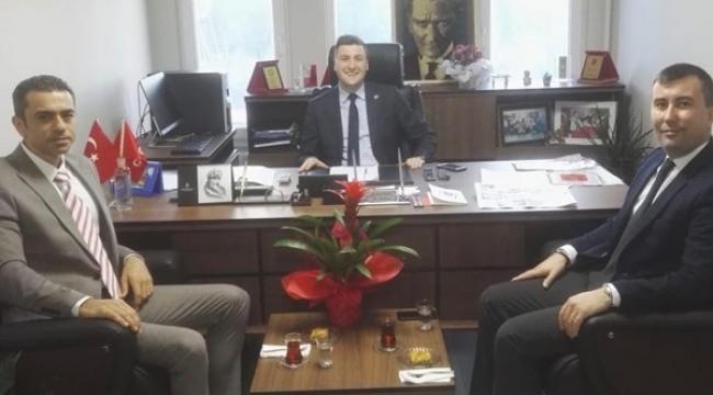 İBB Silivri Mezarlıklar Müdüründen Başkan Esen'e Ziyaret