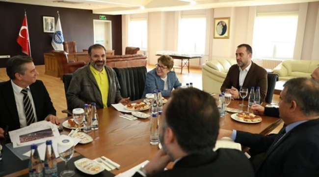 Kadir Has Üniversitesi, Başkan Yılmaz'ı Ağırladı