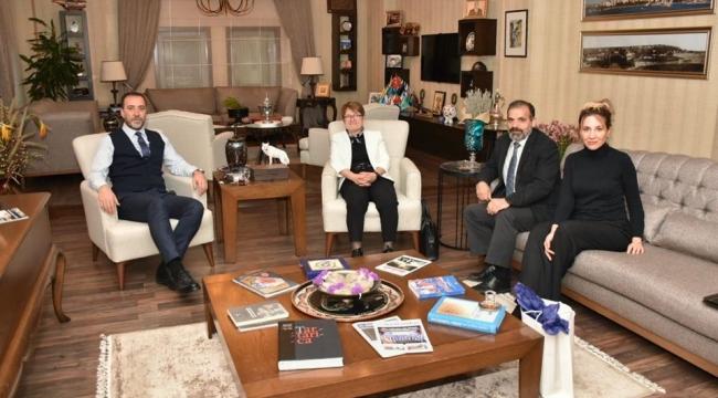 Kadir Has Üniversitesi Rektörü'nden Başkan Yılmaz'a Ziyaret