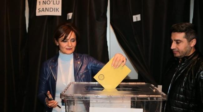 Kaftancıoğlu yeniden CHP İstanbul İl Başkanı