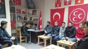 MHP Ortaköy'den Fırat Yılmaz Çakıroğlu İçin Yasin-i Şerif
