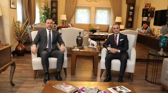 MHP Tuzla Meclis Üyesinden, Yılmaz'a Ziyaret