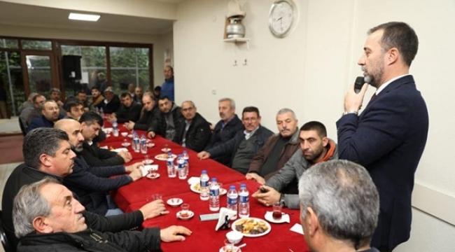 Nevşehirliler Başkan Yılmaz'ı Misafir Etti
