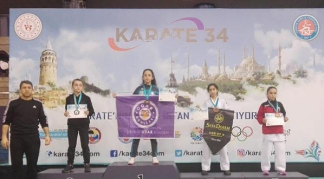 Odak Öğrencisi Alara Akbaş, Karatede Şampiyon Oldu!