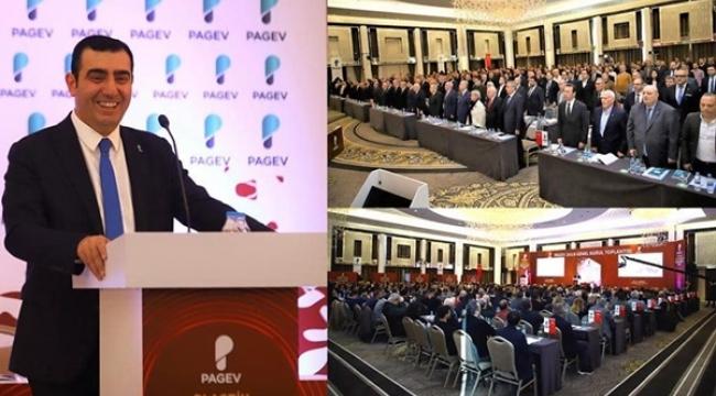 PAGEV'de Silivri SİAD Üyesi Yavuz Eroğlu Yeniden Başkan Seçildi